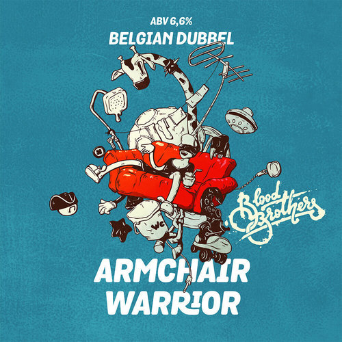 Пиво Blood Brothers Brewery — Armchair Warrior. Купить ...