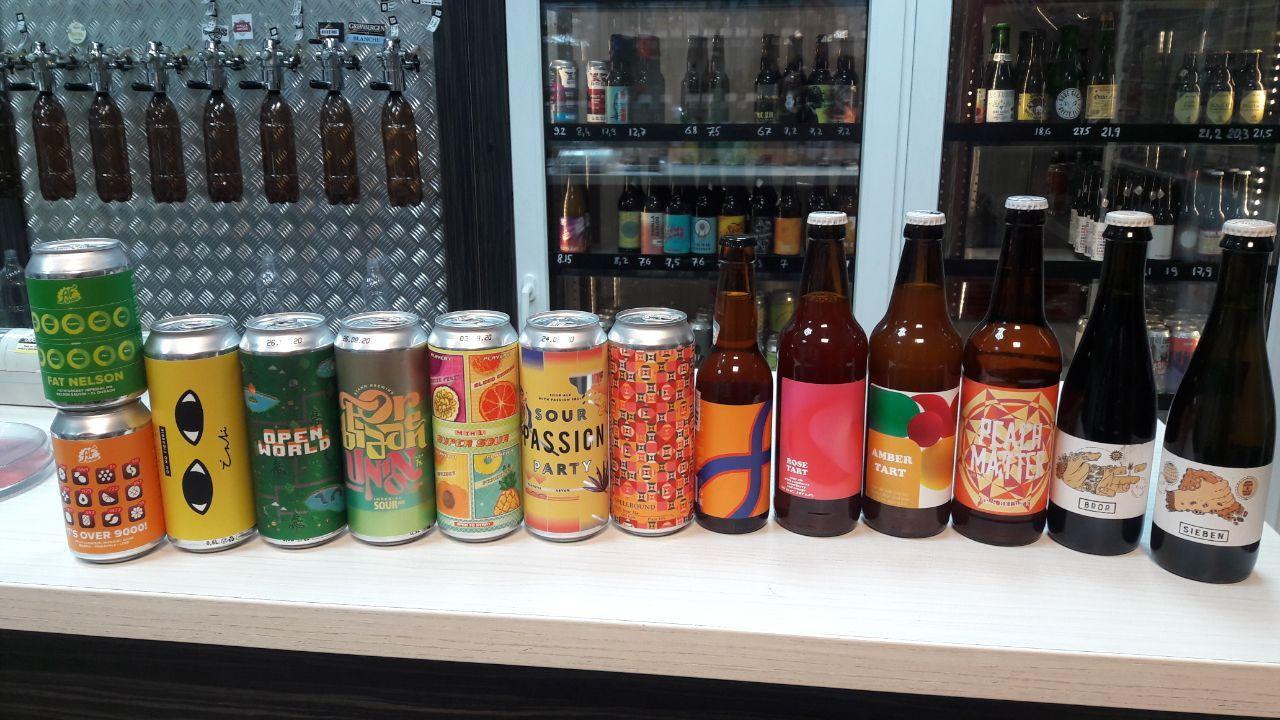 Новый завоз в магазине Beer-loga